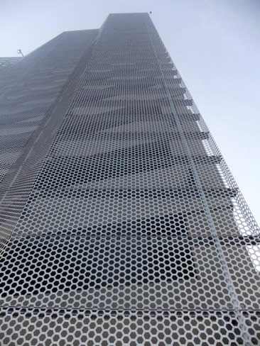 Perforated Sheet Metal Balcony Amp Corridor Decoration