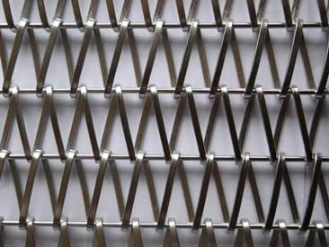 Metal Conveyor Belt - Firm Structure for Building Facade